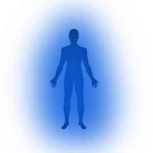 niebieska aura