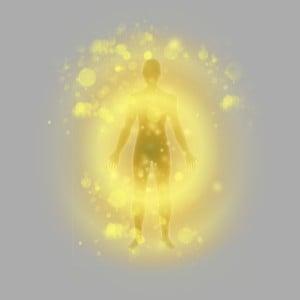 złota aura