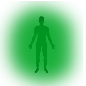 zielona aura
